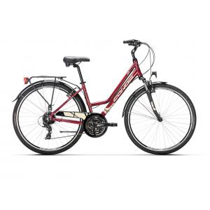 Bicicleta Urbana Conor City 24v Aluminio Burdeos