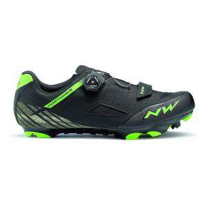 Zapatillas Mtb NORTHWAVE Origin Plus Negro/Verde