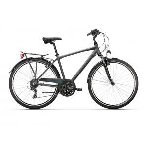 Bicicleta Urbana Conor City 24v Aluminio Gris/Verde