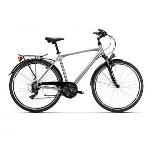 Bicicleta Urbana Conor City 24v Gris/Plata