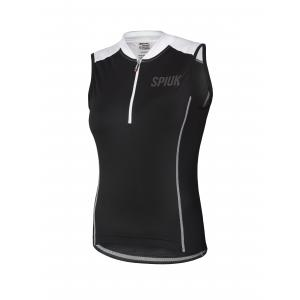 Maillot Sin Mangas SPIUK Indoor Lady Negro/Blanco