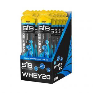 Pack 12 Geles SIS Proteína Whey20 Limón