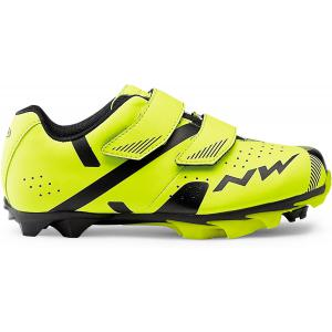 Zapatillas Mtb NORTHWAVE  Hammer 2 Junior Amarillo Flúor/Negro