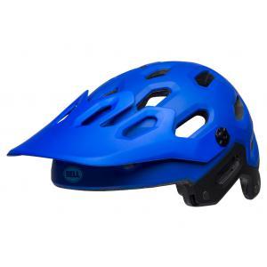 Casco BELL Super 3 Azul Mate/Negro