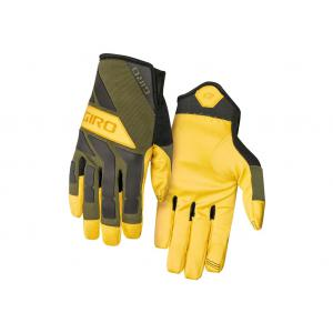 Guantes Largos GIRO Trail Builder Amarillo-Verde