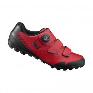 Zapatillas Mtb SHIMANO SH-ME400 Rojo-Negro