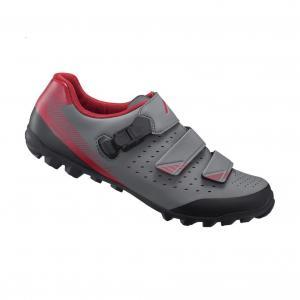 Zapatillas Mtb SHIMANO SH-ME301 Gris-Rojo