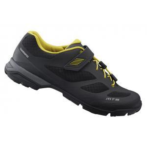 Zapatillas MTB SHIMANO SH-MT501 Negro-Amarillo