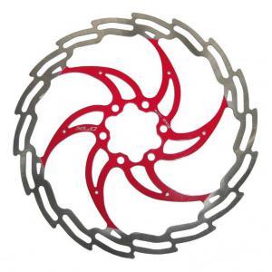 Disco de Freno XLC BR-X02 160mm Plata-Rojo
