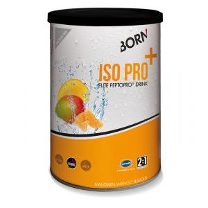 Bebida Isotónica BORN ISO Pro+ 400grs Naranja-Mango
