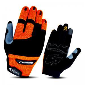 Guantes Largos GES Racing Naranja Flúor-Negro