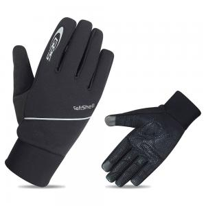 Guantes Largos GES SoftShell Negro