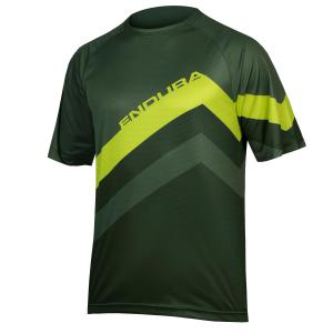 Camiseta ENDURA SingleTrack Core Print Bosque Verde