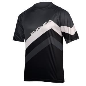 Camiseta ENDURA SingleTrack Core Print Negro