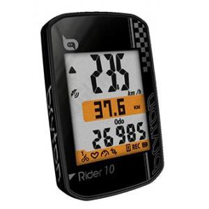Ciclocomputador BRYTON 10E GPS Negro