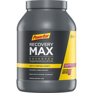 Bebida Recuperadora POWERBAR Recovery Max Frambuesa 1.144grs