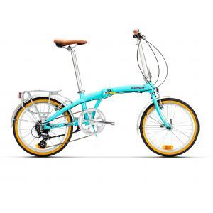 Bicicleta Plegable Conor Autumn Turquesa