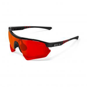Gafas SCI-CON Aerotech Negro-Rojo