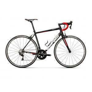 Bicicleta Carretera CONOR Spirit X 105 Negro/Rojo