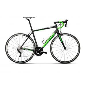 Bicicleta Carretera CONOR Spirit X 105 Negro/Verde