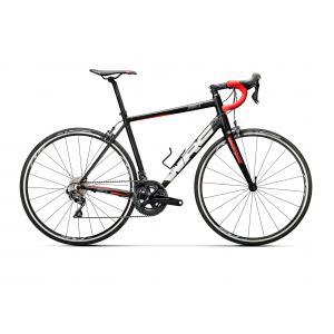 Bicicleta Carretera CONOR Spirit X Ultegra Negro/Rojo