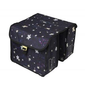 Alforjas Dobles BASIL Stardust Azul Oscuro 20L