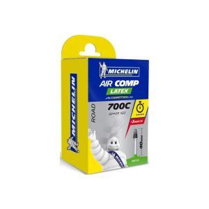 Cámara Carretera Michelin Aircomp Latex 700x22-23 Válvula 40mm