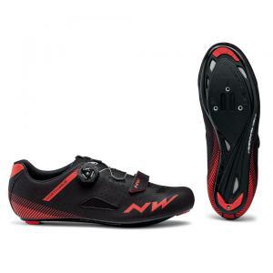 Zapatillas Carretera NORTHWAVE Core Plus Negro/Rojo