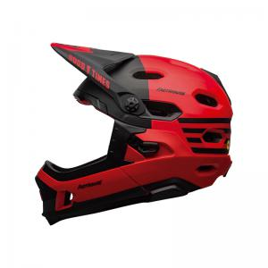 Casco BELL Super DH Mips Rojo-Negro Fasthouse 2020
