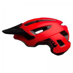 Casco BELL Nomad Rojo-Negro 2020