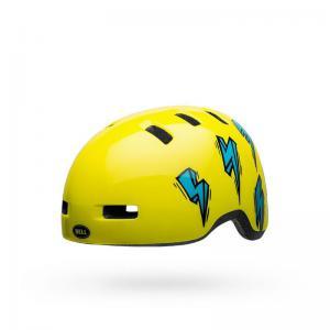 Casco BELL Lil Ripper Amarillo-Azul 2020