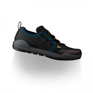 Zapatillas Mtb FIZIK Terra X2 Ergolace Negro-Azul