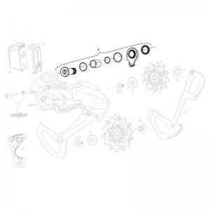 Kit Tornillo Cambio SRAM X01 Eagle Axs