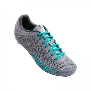 Zapatillas Carretera GIRO Empire E70 Knit Lady Gris-Verde Menta 2020