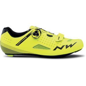 Zapatillas Carretera NORTHWAVE Core Plus Amarillo Fluor
