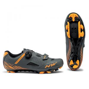 Zapatillas Mtb NORTHWAVE Origin Plus Gris/Naranja