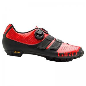 Zapatillas Mtb GIRO Sica Techlace Lady Rojo-Negro 2020