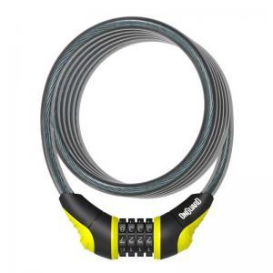 Candado ONGUARD Espiral Combinación Neon 180cm x 12mm