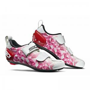 Zapatillas Triatlón SIDI Lady T-5 Air Carbon Rosa/Rojo/Blanco