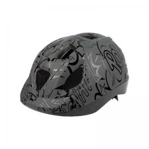 Casco POLISPORT Kid Balon Negro Mate
