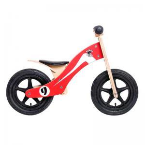 Bicicleta Aprendizaje REBEL KIDZ Air Retro Racer Madera Rojo-Blanco