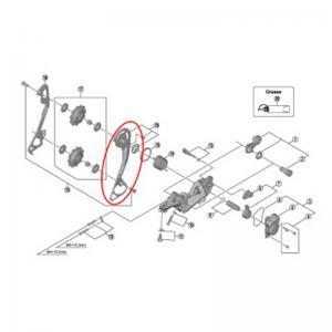 Portapoleas Exterior Cambio SHIMANO SLX M7000 SGS 11v