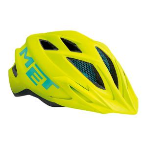 Casco MET Crackerjack Amarillo