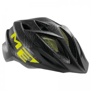 Casco MET Crackerjack Negro-Verde