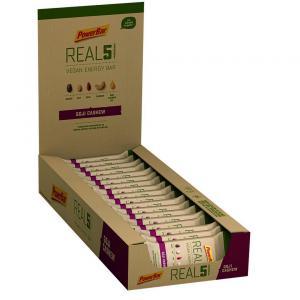 Pack 18 Barritas Energéticas POWERBAR Natural Energy Vegan Real 5 Goji Cashew