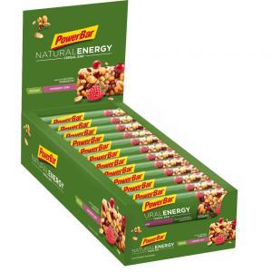 Pack 24 Barritas POWERBAR Natural Energy Cereal Raspberry Crisp