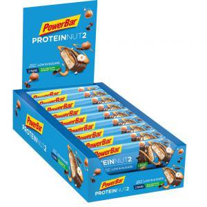 Pack 18 Barritas Energéticas POWERBAR Protein Nut2 Leche Chocolate Avellana