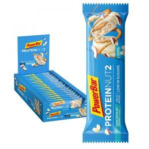Pack 18 Barritas Energéticas POWERBAR Protein Nut2 Coco Chocolate Blanco