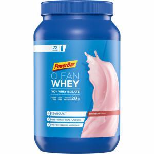 Proteína en Polvo POWERBAR Clean Whey Isolate Fresa 570grs