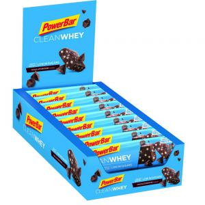 Pack 18 Barritas Energéticas POWERBAR Clean Whey Chocolate Brownie